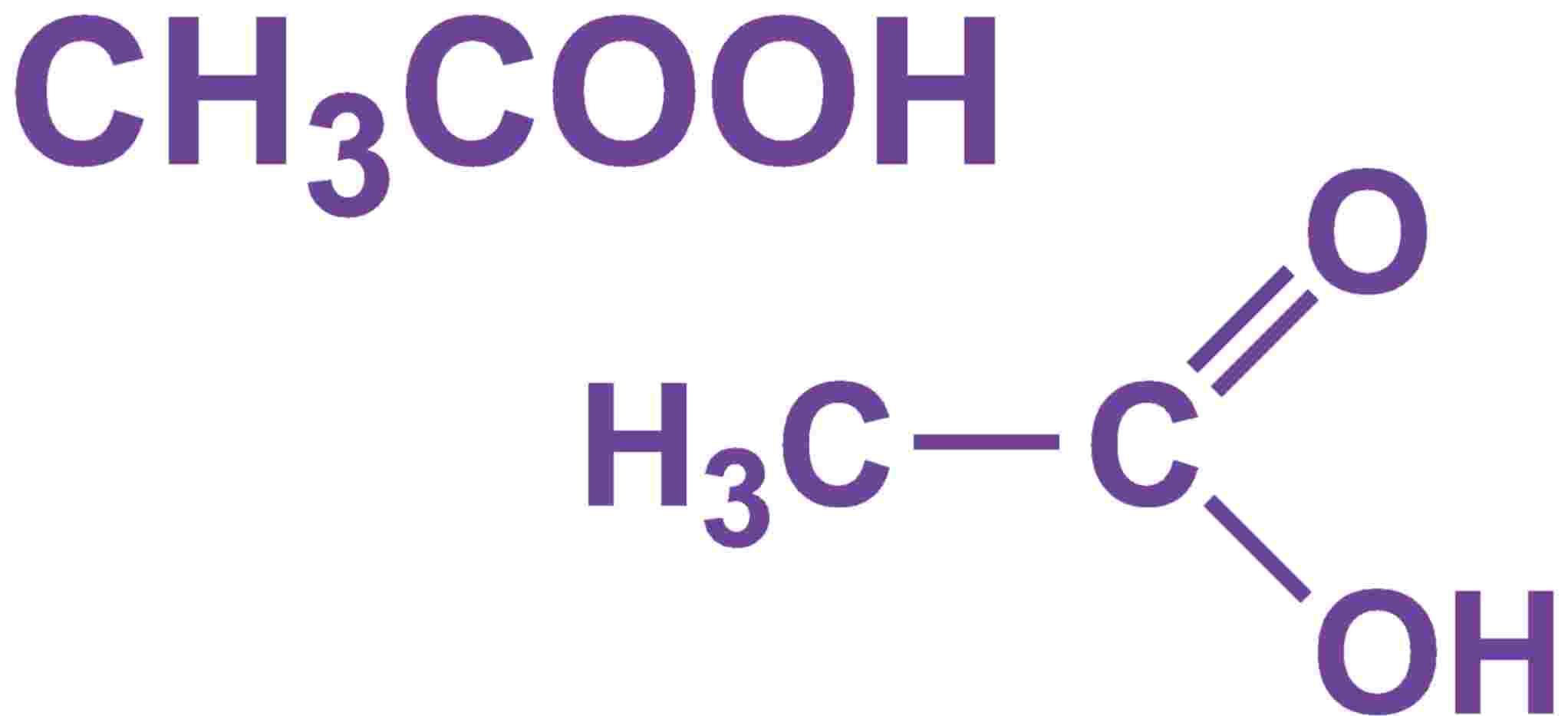 Ethanoic Acid Acetic Acid